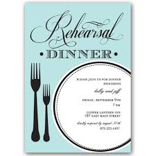 Rehearsal Dinner Invitations Perfect Plate Rehearsal Dinner Invitations Paperstyle