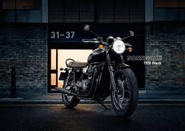 2016 triumph bonneville t120 and t120 black first photos look