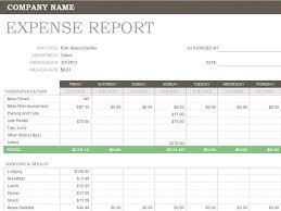 Business Expenses Excel Template Open Office Expense Report Template Rabitah