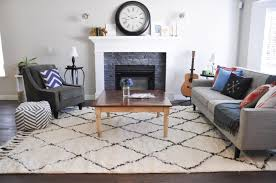 Rug Placement Bedroom Living Room Amazing Living Room Rug Decorating Ideas With White