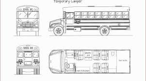 school bus conversion floor plans short bus conversion ideas fresh school bus conversion floor plans
