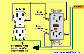 i am connecting a gfci outlet and it is my understanding that the