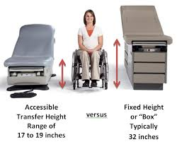 Physician Office Furniture by Accessible Medical Examination Tables And Chairs Ada National