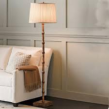 Bamboo Floor Lamp Bamboo Floor Lamp Gold Gump U0027s