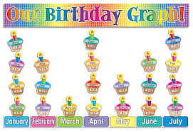 thanksgiving graphing amazon com our birthday graph bulletin board scholastic office