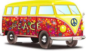 volkswagen van hippie hippy vw bus clip art at clker com vector clip art online royalty