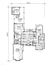 Mediterranean Style House Plans by Mediterranean Style House Plan 4 Beds 4 50 Baths 4700 Sq Ft Plan