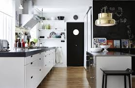 mesmerizing scandinavian kitchen ideas with black chairs and