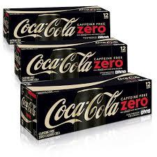 coke zero fan cam amazon com caffeine free coke zero fridge pack bundle 12 fl oz