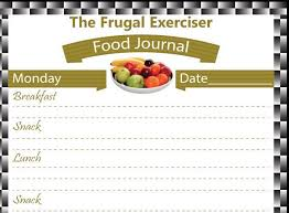 food journal food diary weight loss journal weight loss