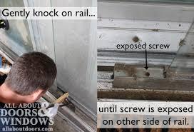 replacing sliding glass door rollers remove sliding glass door simple sliding closet doors as remove