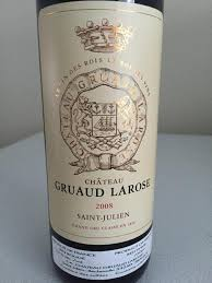 30 years of château gruaud 2008 château gruaud larose bordeaux médoc st julien