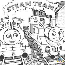 thomas the train coloring page pertaining to inspire in coloring