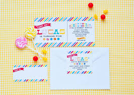 candy themed baby shower invitations dylans candy bar candy shop