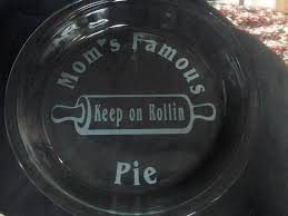 personalized pie plate 180 best sandblasting etching images on glass etching