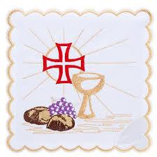 linge d antan linge d u0027autel 4 pièces symboles eucharistie vente en ligne sur