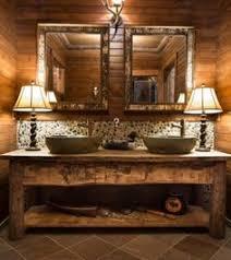Rustic Bathroom Designs - rustic bathroom beautiful light fixtures make mine rustic