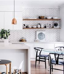 Tile In The Kitchen - 35 ways to use subway tiles in the kitchen digsdigs