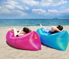 awesome inflatable air sofa air bed waterproof sleeping bag