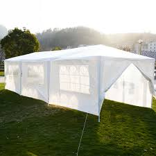 Patio Tent Gazebo Our 10 X 30 White Tent Gazebos Are Great Sun Shades For