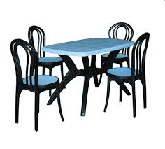 plastic table with chairs plastic dining table with chair luxury chairs table exporter