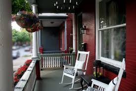 modern porch front porch flowers home stories a to z