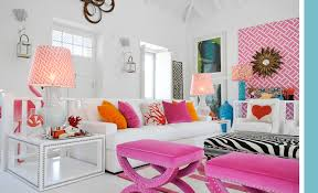 White Black And Pink Bedroom Pink And Orange Living Room Design Ideas U0026 Pictures