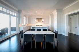 Kitchen With Center Island by Razed In The Hamptons A Spacious Kitchen With A Center Island