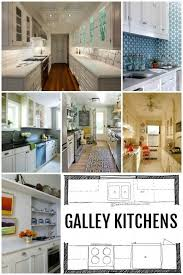 How To Design Kitchen Cabinets Layout Kitchen Design Galley Kitchen Layouts Via Remodelaholic Com