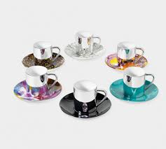 cool espresso cups materialology damien hirst mixed anamorphic cup and saucer set