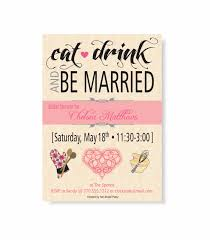 eat drink and be married invitations eat drink be married bridal shower invitation pink damask