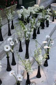 Halloween Wedding Centerpieces Ideas by Black And Silver Table Decorations Decorating Home Interiors With
