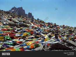 Prayer Flags Tibetan Prayer Flags Lungta On Image U0026 Photo Bigstock