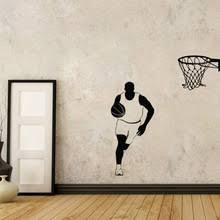 Sports Decals For Kids Rooms by Popular Sports Wall Decals Buy Cheap Sports Wall Decals Lots From