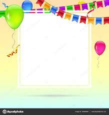 celebrate colorful background with flying colorful balloons on