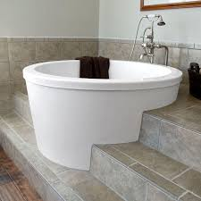 top notch white stained japanese vessel tubs design of top notch