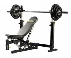 Weight Bench With Barbell Set Bench Homegym Equipment Heres A Olympic Barbell Set And Intended