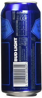 is bud light made with rice bud light lager can 18 x 440 ml amazon co uk prime pantry