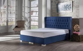 Santiago Bed Frame Santiago Navy Istikbal Furniture