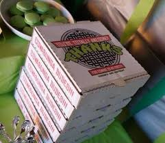 personalized pizza boxes personalized pizza box labels 8 10 by withheartstudio on etsy