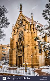 the gothic revival style loretto chapel home of the