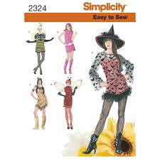 Simplicity Halloween Costumes Misses U0027 Easy Sew Costumes Simplicity