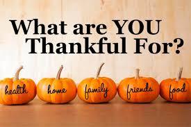 being thankful this thanksgiving bridge community church