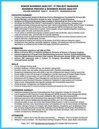 business analysis resume resume objective statement for customer service resume