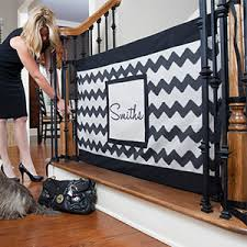 Best Upholstery Fabric For Kids Finally A Beautiful Customizable Stair Gate For Kids And Dogs