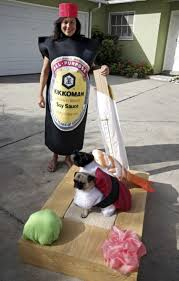 Halloween Costumes Husky Dog 35 Awesome Homemade Matching Pet Owner Couples Costumes
