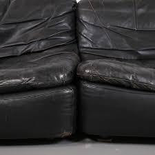 ledersofa vintage look vintage modular leather sofa from dreipunkt international cor