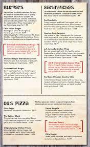 main menu 333 originals ale house