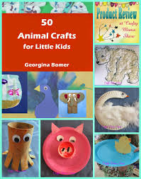 crafty moms share 50 animal crafts for little kids book review