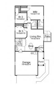 Skinny Houses Floor Plans 7 Small House Floor Plans That Amazingly Fit 3 Bedrooms In Under